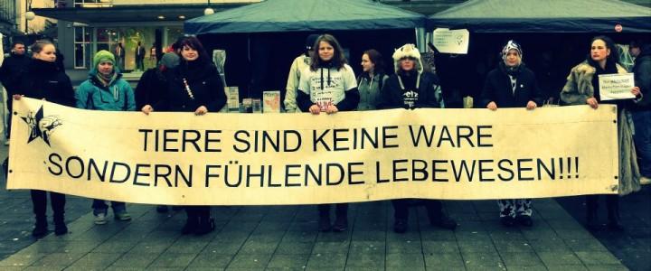 "Bericht zur Demo ""Kassel pelzfrei"""