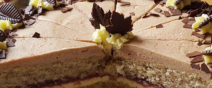 Wie aus Omas Küche: vegane Buttercremetorte