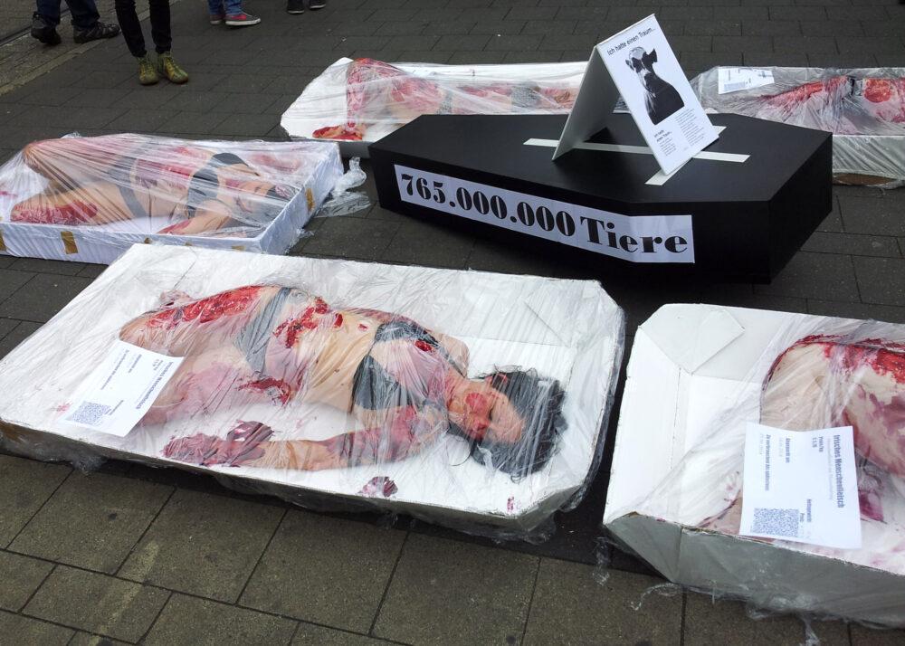 Galerie zum Marsch zur Schließung aller Schlachthäuser 2014