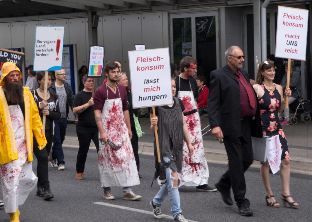 Galerie zum Marsch zur Schließung aller Schlachthäuser 2016